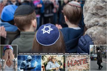 Persistent antisemitism hangs over EU