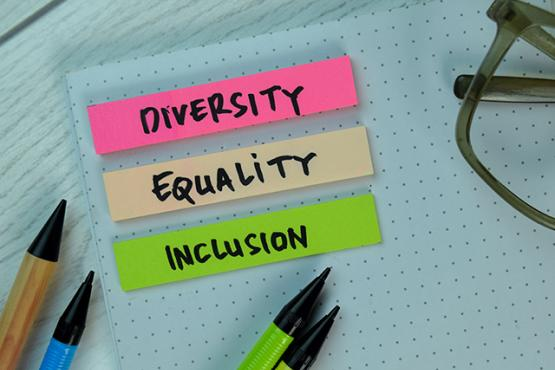 Diversity equality inclusion on notes
