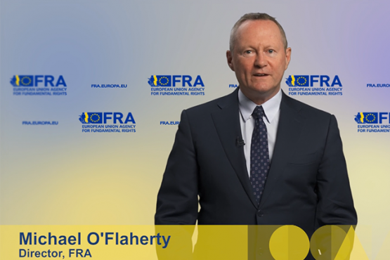 Video statement by Michael O'Flaherty for the 2020 General conference of the International Coalition of Inclusive and Sustainable Cities (ICCAR)