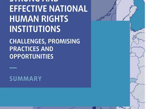 Strong and effective national human rights institutions: challenges, promising practices and opportunities - Summary