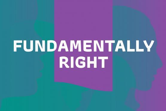 Fundamentally Right podcast logo