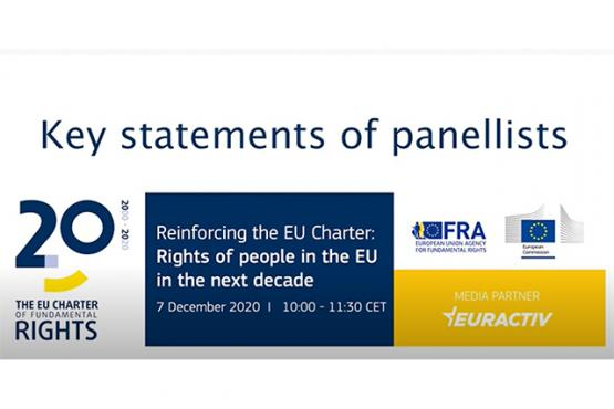 Reinforcing the EU Charter - key statements of panellists