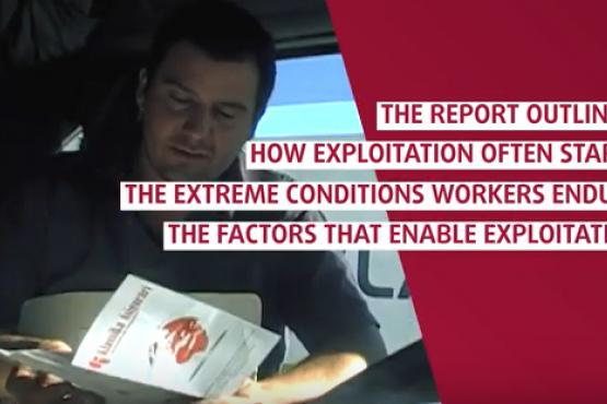 Severe labour exploitation: Report findings