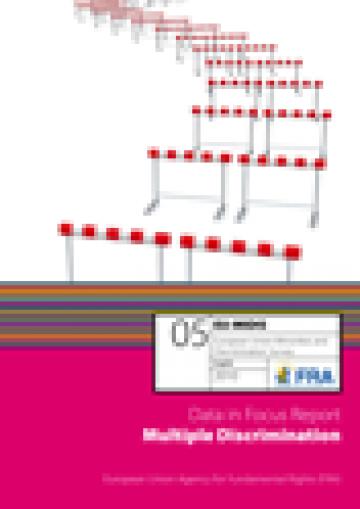cover of the EU-MIDIS Data in Focus 5: Multiple discrimination