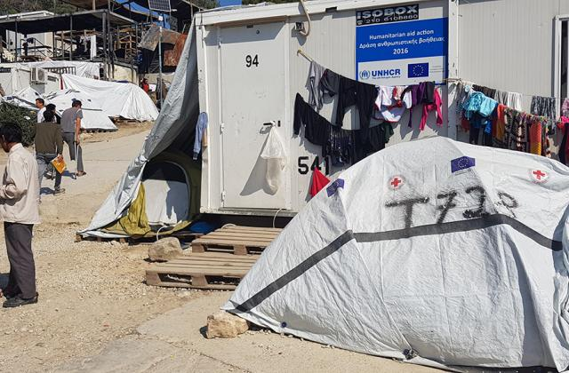 Deplorable conditions in receptions centres and police violence: still a daily reality for many migrants