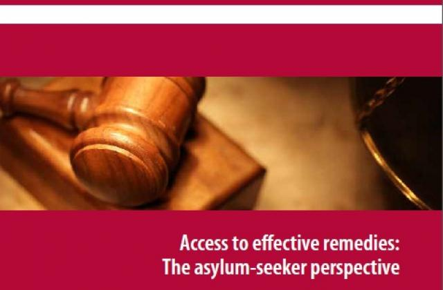 Access to effective remedies: The asylum-seeker perspective