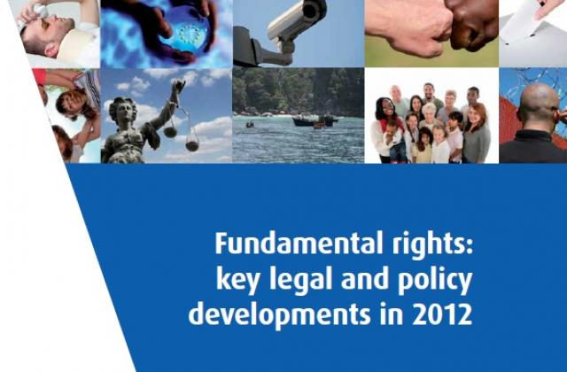 Fundamental rights: key legal and policy developments in 2012