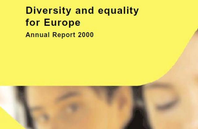Diversity and equality for Europe Annual Report 2000 - EUMC Annual Report 2000