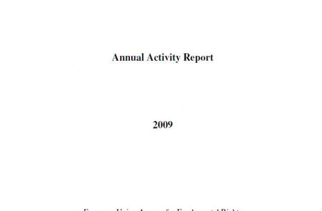 Annual activity report 2009