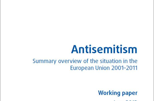 Antisemitism: Summary overview of the situation in the European Union 2001-2011