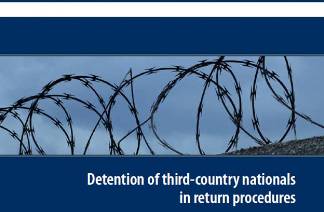 Detention of third country nationals in return procedures