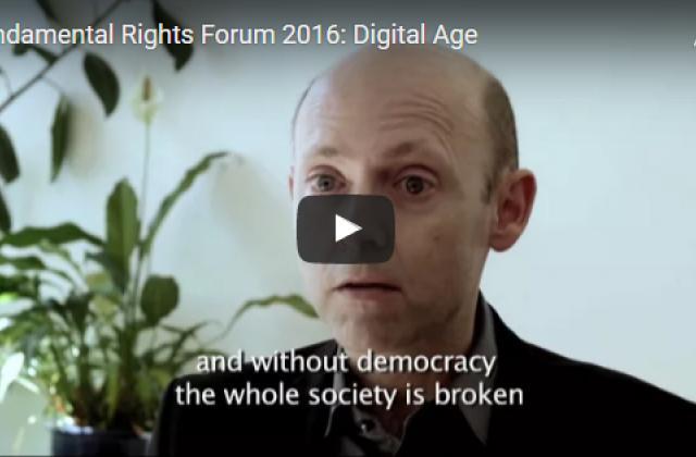 Fundamental Rights Forum - The digital age