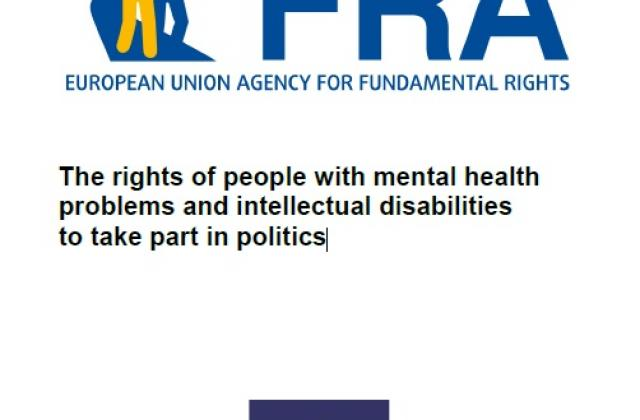 The rights of people with mental health problems and intellectual disabilities to take part in politics