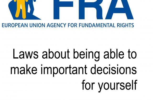Des lois pour pouvoir prendre soi-même des décisions importantes