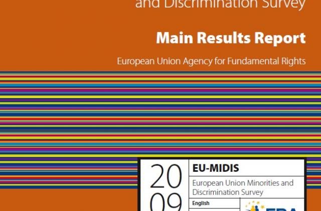 European Union Minorities and Discrimination Survey - Main Results Report