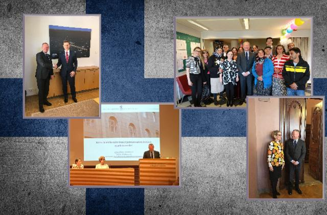 Forging ever closer ties with Finland to help promote fundamental rights