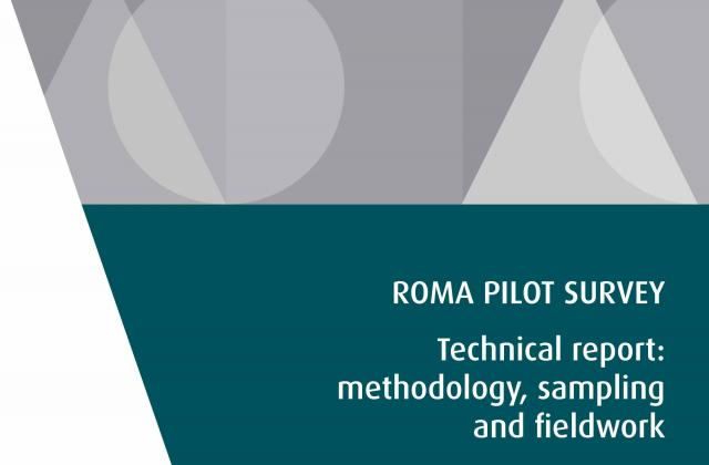 Roma Pilot Survey – Technical report: methodology, sampling and fieldwork