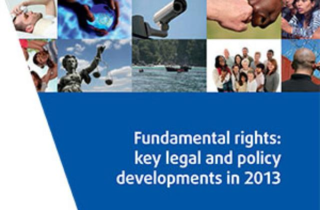 Fundamental rights: key legal and policy developments in 2013. Highlights 2013