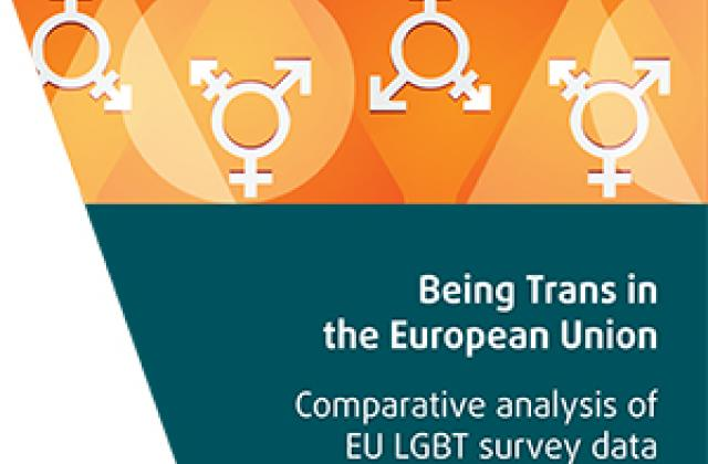 Being Trans in the EU - Comparative analysis of the EU LGBT survey data
