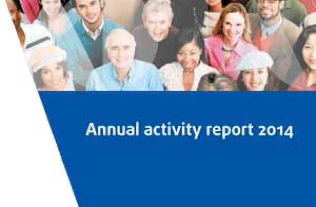 Annual activity report 2014