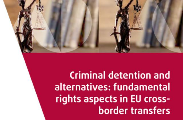 Criminal detention and alternatives: fundamental rights aspects in EU cross-border transfers