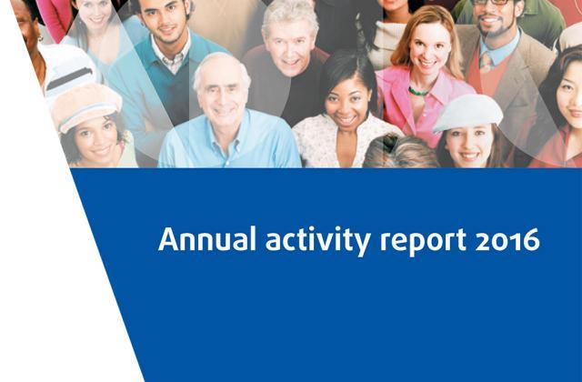 Rapport d'activité annuel 2016