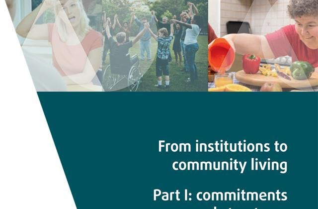 From institutions to community living - Part I: commitments and structures