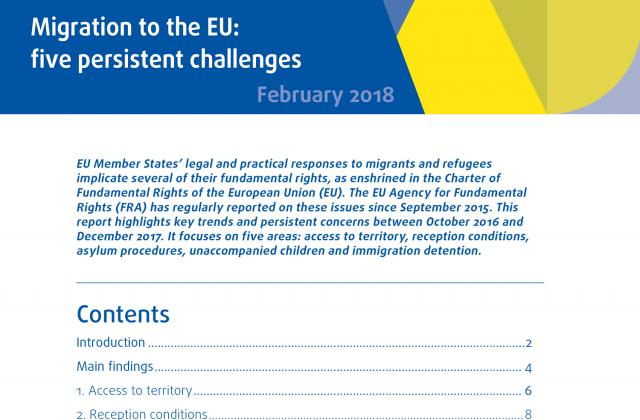 Migration to the EU: five persistent challenges