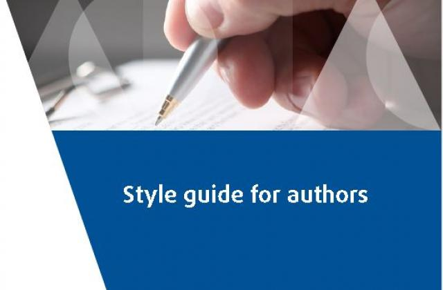 Style guide for authors - 2019 edition