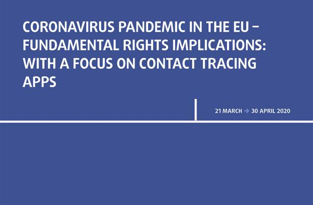 Coronavirus pandemic in the EU - Fundamental Rights Implications - Bulletin 2