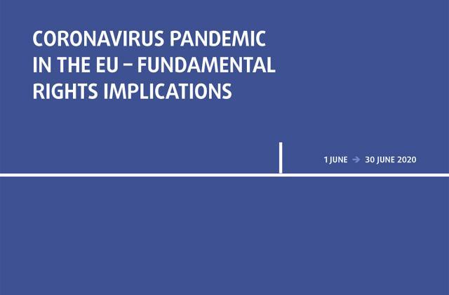 Coronavirus pandemic in the EU - Fundamental Rights Implications - Bulletin 4