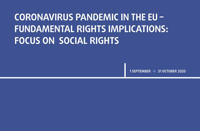 Coronavirus pandemic in the EU - Fundamental Rights Implications - Bulletin 6