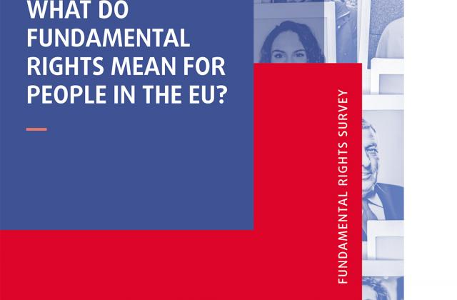 What do rights mean for people in the EU? - Fundamental Rights Survey