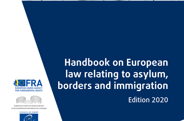 Handbook on European law relating to asylum, borders and immigration - Edition 2020