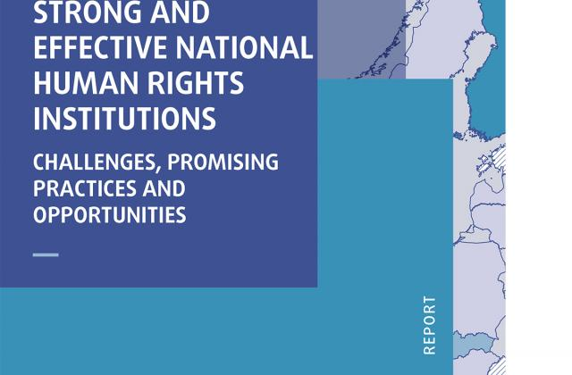 Strong and effective national human rights institutions – challenges, promising practices and opportunities