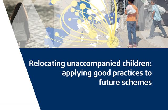 Relocating unaccompanied children: applying good practices to future schemes