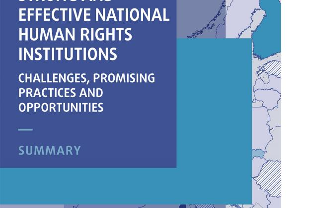Strong and effective national human rights institutions: challenges, promising practices and opportunities ― Summary