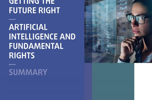 Getting the future right – Artificial intelligence and fundamental rights - Summary