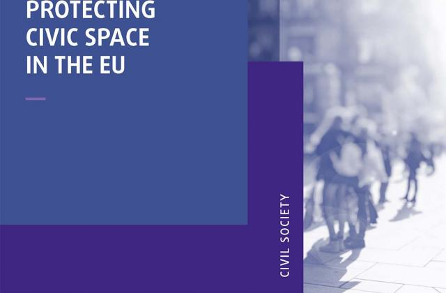 Protecting civic space in the EU