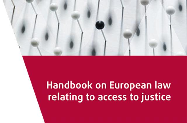 Czech and German versions of the access to justice legal handbook