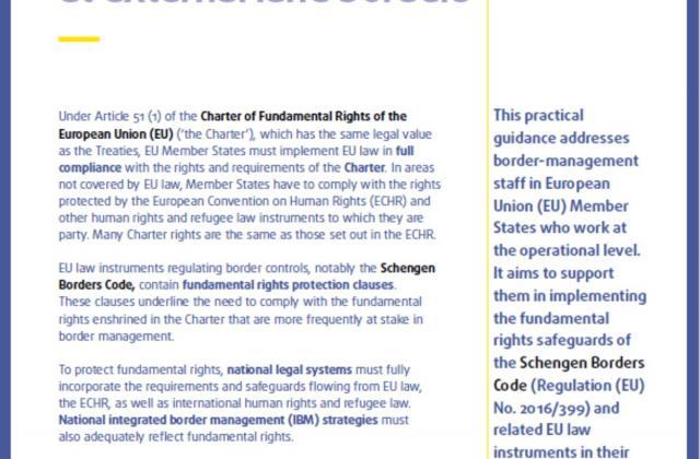 Border controls and fundamental rights at external land borders