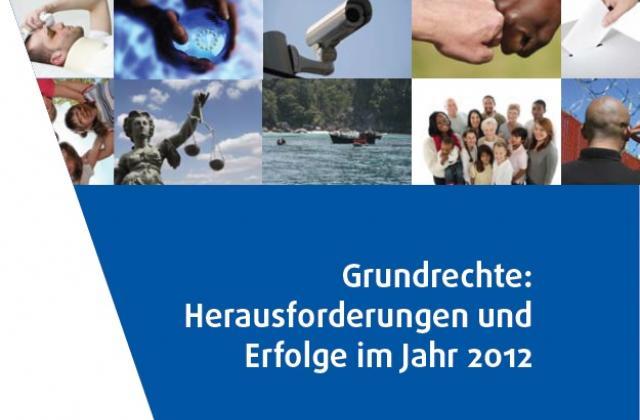 Grundrechte: Herausforderungen und Erfolge im Jahr 2012
