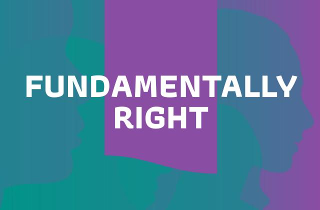 Fundamentally Right podcast logo