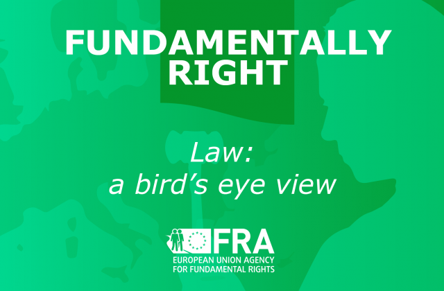 Fundamentally right podcast- Law: A bird's eye view