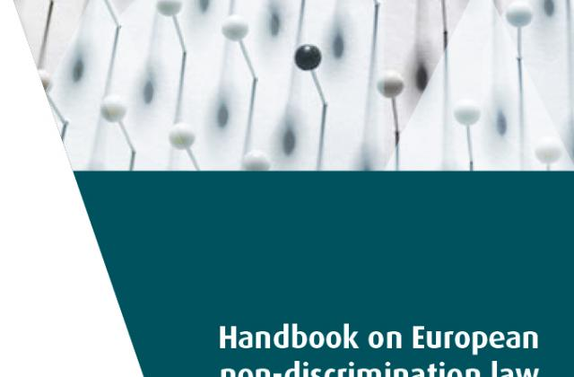 Handbook on European non-discrimination law - 2011 edition