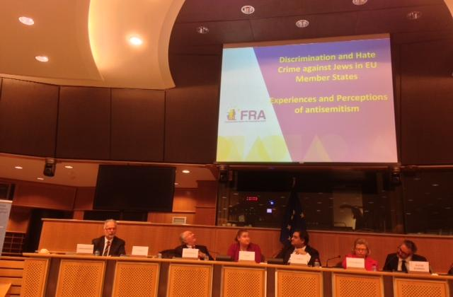 FRA presents antisemitism survey results to European Parliament