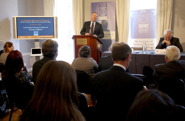 """FRA Director speaks of """"frightening"""" tendency to question Europe's human rights framework"""