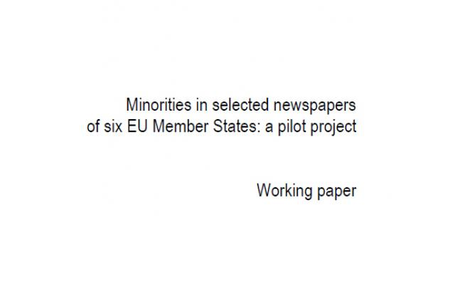 Minorities in selected newspapers of six EU Member States
