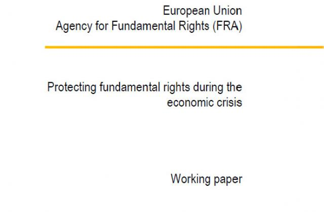 Protecting fundamental rights during the economic crisis