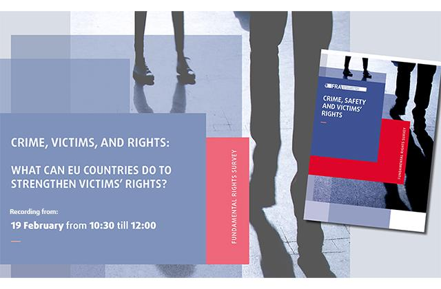 Event recording - Crime, victims, and rights: what can EU countries do to strengthen victims' rights?